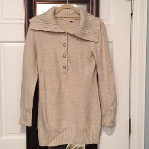 Fossil tunic sweater